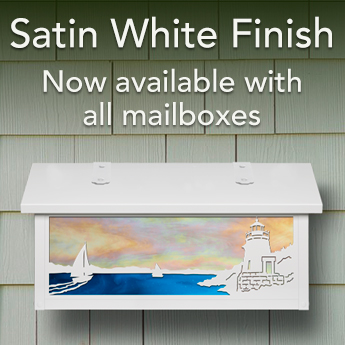 New Satin White Finish